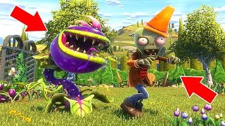 ZOMBİ YİYEN BİTKİ OLDUM 🤣 - Plants vs. Zombies: Garden Warfare 2