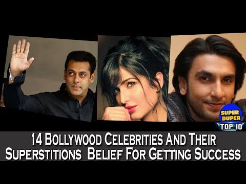 14 Bollywood Celebrities And Their Superstitions Belief For Getting Success - HD Latest 2018