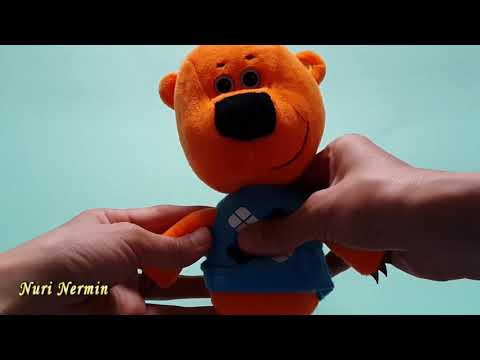 """Мягкая игрушка """"Мими-мишки"""" - Медвежонок Кешка со звуком, 20 см"""