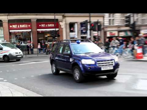 London Fire Brigade - Land Rover Freelander Officers Car On Emergency Call
