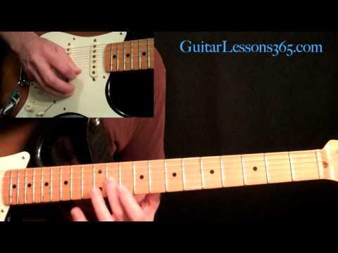 Guns N' Roses - Paradise City Guitar Lesson Pt.3 - Chorus & Solo