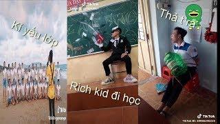Tik tok Việt Nam-Khi học sinh lầy đi học P5