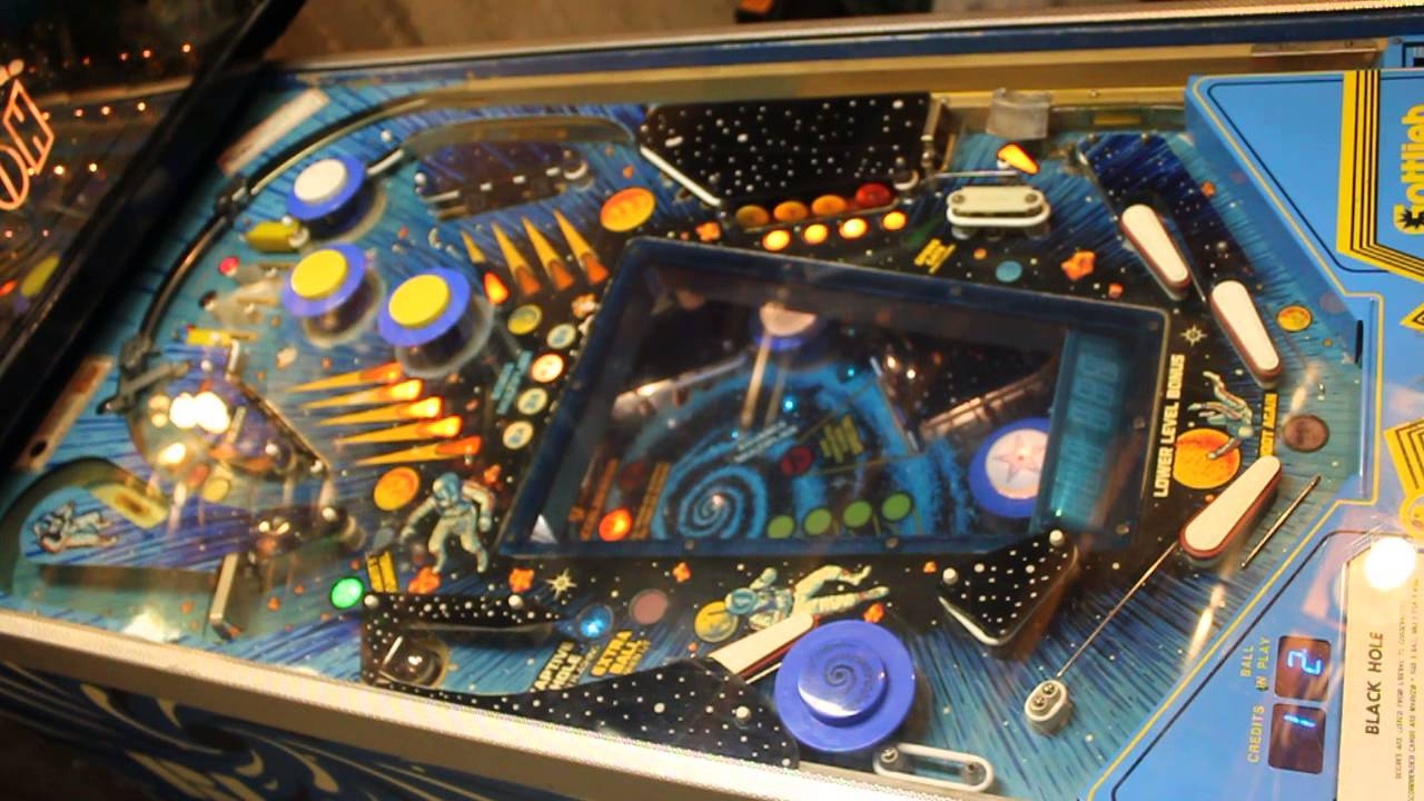 Black Hole Pinball Spinner Motor - Pics about space