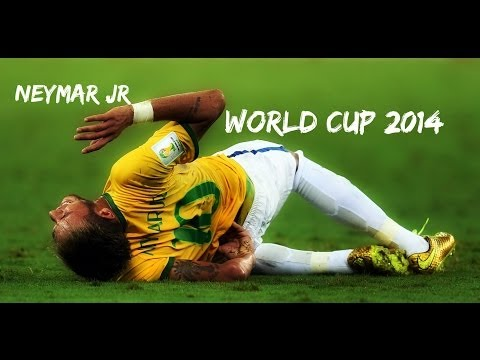 Neymar Jr - World Cup 2014 ● All Skills & Goals & Assist & Injury ● FULL HD (1080p)