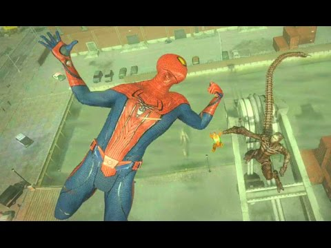 The Amazing Spider-Man (Video Game) Walkthrough - Chapter 7: Spidey to the Rescue (2/2)