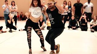 Albir Rojas & Sara Panero danse la kizomba