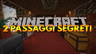 2 Passaggi SEGRETI su MINECRAFT - TUTORIAL - INVISIBILI