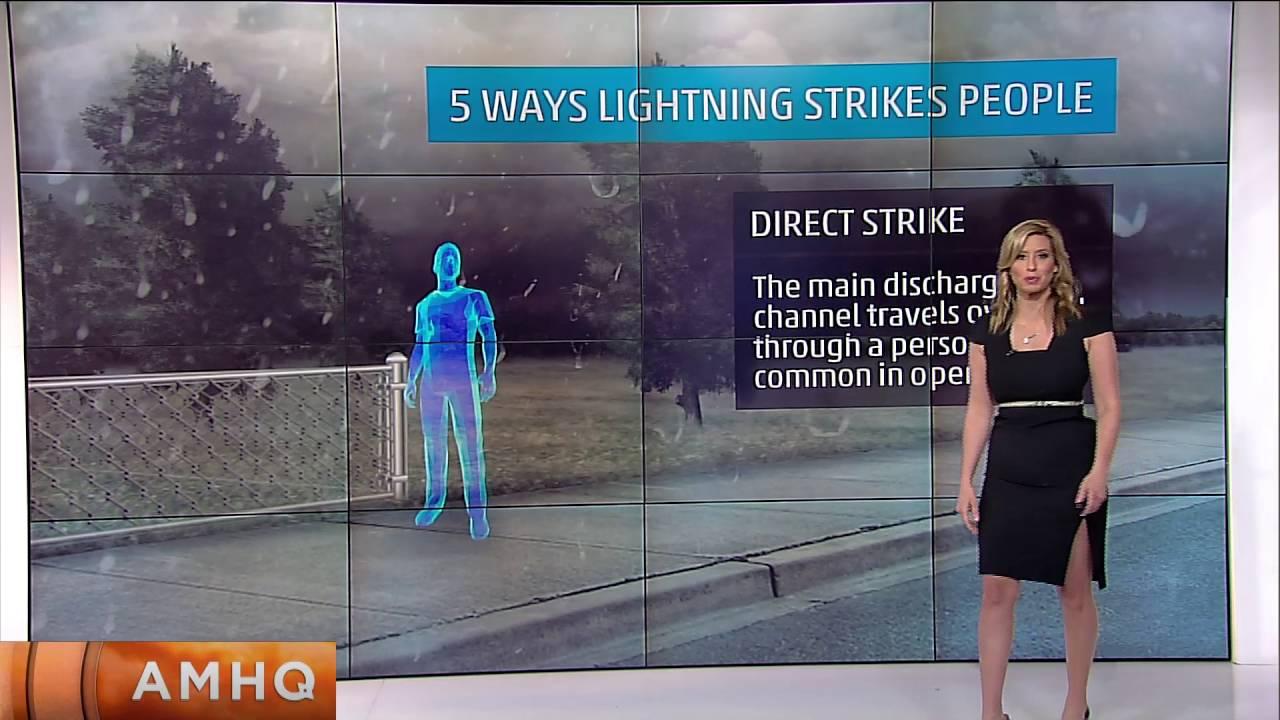 Lightning Strikes Golf Course
