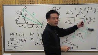 FCS数学教室/ベクトル入門2限目「一直線上になる事の証明」【前】