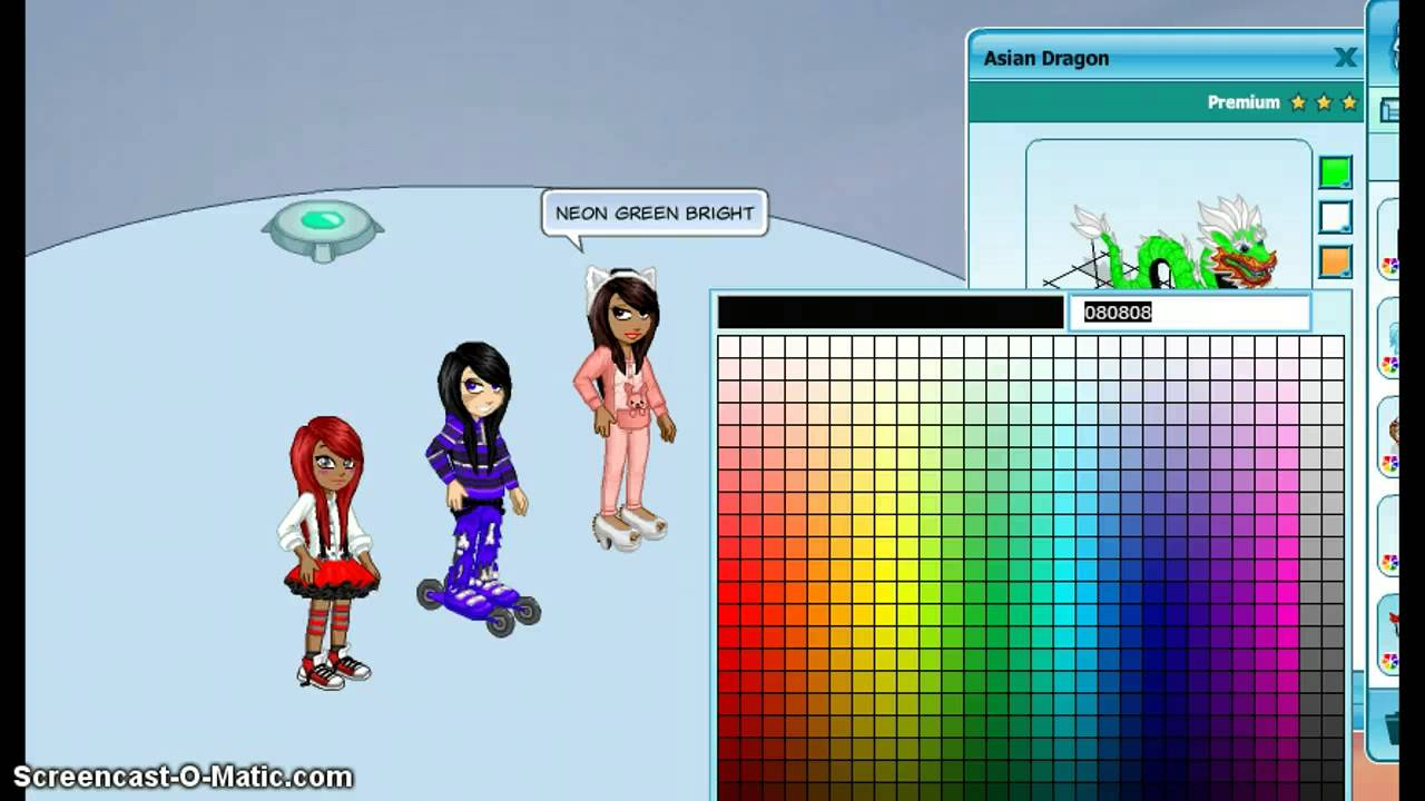 woozworld colour codes youtube