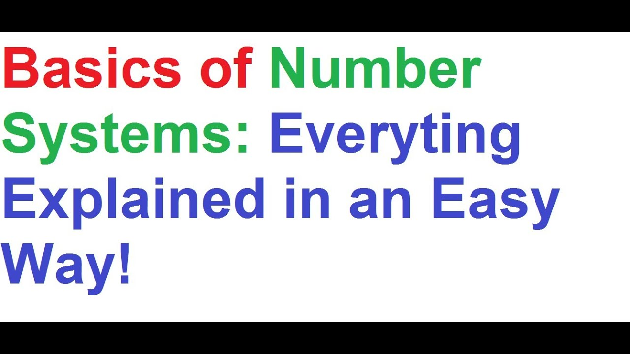 number system The decimal numeral system (also called base-ten positional numeral system, and occasionally called denary) is the standard system for denoting integer and non-integer numbers it is the extension to non-integer numbers of the hindu–arabic.