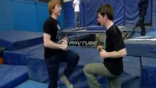 Harry Potter bonus HBP : stunt training with rupert grint