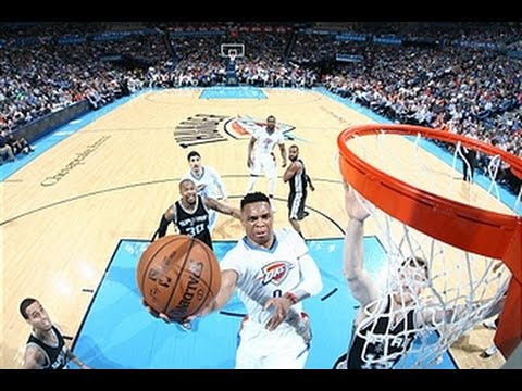 Russell Westbrook, Kevin Durant Lead Thunder Past Spurs