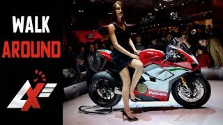 2018 Ducati Panigale V4 S & Speciale walk-around (engine, exhaust & instruments) - EICMA2017