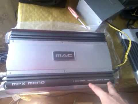 Схема mac audio z4200