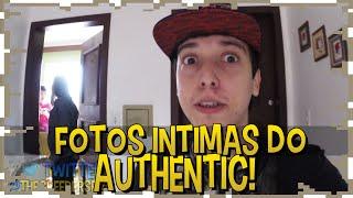 FOTOS INTIMAS DO AUTHENTIC - VISITA A CASA AUTHENTICA #1