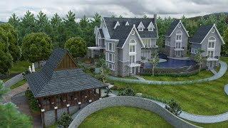 Sketchup House Exterior Design 5 + Vray 3.4