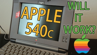 Apple Powerbook 540c - Vintage, Starting for the First Time in 20+ Years