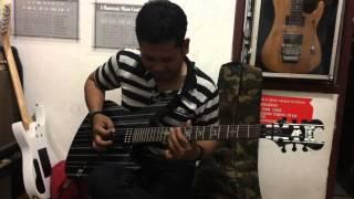 Gitaris dangdut keren -main melodi lagu stress dari rhoma irama