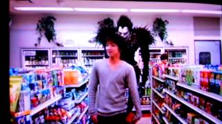 Death Note movie funny scene