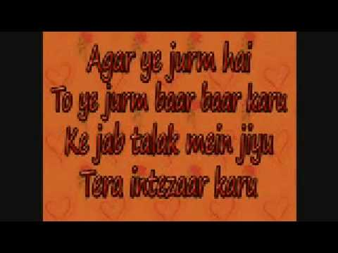 Tujhe Main Pyar Karu With Lyrics Full Hd 1920 Kailash Kher video