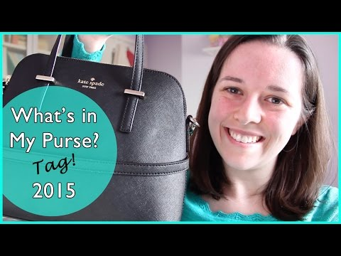 What S In My Purse Tag 2015 Kate Spade Personal