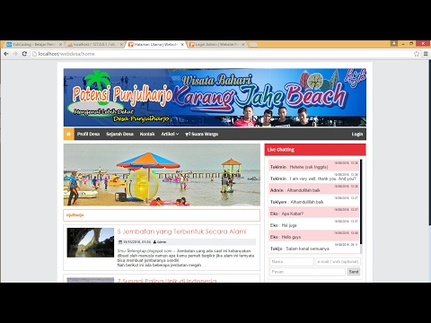 Source Code Aplikasi Web Potensi Desa Responsive by YukCoding