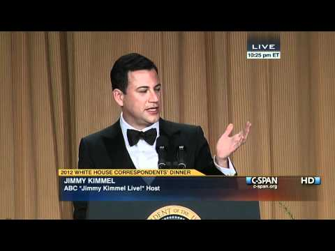 C-SPAN: Jimmy Kimmel at the 2012 White House Correspondents' Dinner