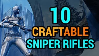 10 Sniper Rifles You Can Craft in SWTOR