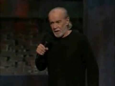 George Carlin on white people