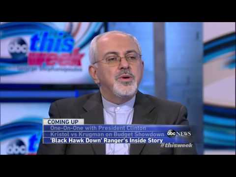 'This Week' Exclusive Interview Iran's Foreign Minister Javad Zarif|NewsDay