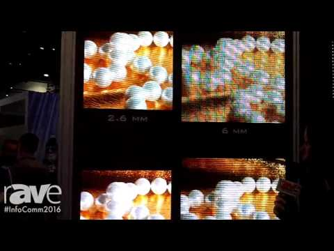 InfoComm 2016: Daktronics Exhibits High Resolution Indoor Display 2.6MM and 1.9MM