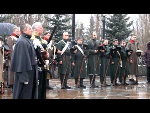 Чтение Манифеста об освобождении России от неприятеля