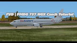 FVD   PMDG 737 NGX Czech Tutorial