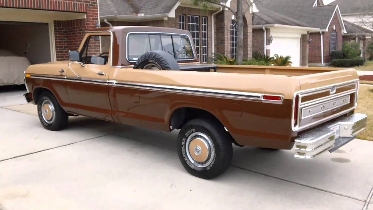 1977 Ford F 150 With Magnaflow Start Up Amp Walk Around