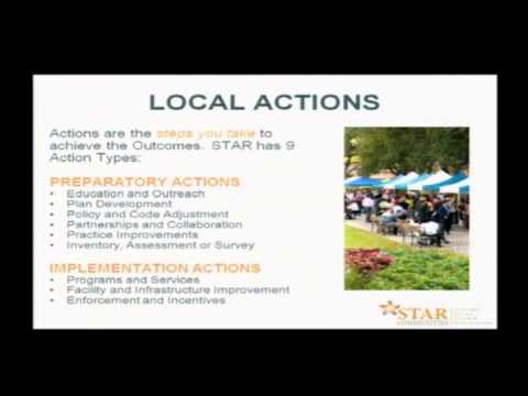 Public education on what being a STAR Community means for Park Forest