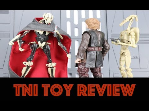 "Star Wars: The Black Series 6"" General Grievous Figure Review"