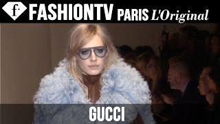 Gucci ft Salma Hayek | Fall/Winter 2014-15 FIRST LOOK | Milan Fashion Week | FashionTV