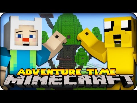 Minecraft ADVENTURE TIME Finn Jake and The land of Oooo #1