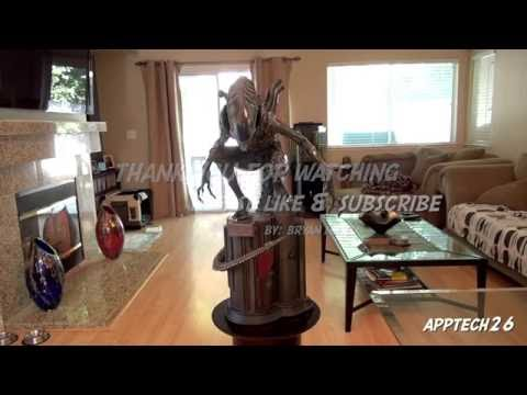 Sideshow Alien Warrior Maquette Review 11/8/2013