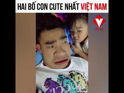 Hai bố con cute nhất Việt Nam