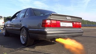 Best SOUNDs of Audi 20V Turbo Audi RS2 80 90 200 Coupe SOUND