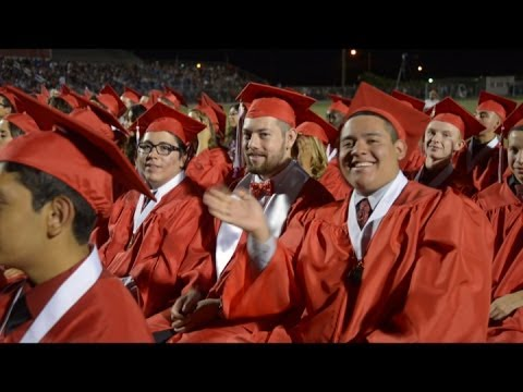 Imperial High School Tigers celebrate 2014 graduation