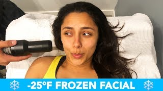 We Tried A -25°F Frozen Facial