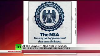 NSA, DHS seals can be used in parodies  2/20/14