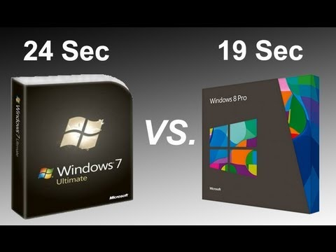 Windows 7 vs. Windows 8 SSD Performance Comparison Speed Test
