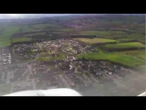 Flybe ~ Embraer 175 ~ Landing ~ Aberdeen ABZ