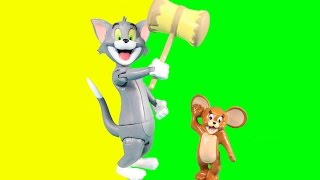 Tom And Jerry The Movie Toys Tom Chases Jerry Around The House With Falls Crashes & Laughs