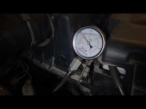1.9 TDI измеряем давления топлива