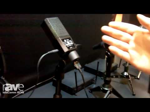 InfoComm 2015: Lewitt Introduces DGT 450 Studio Condenser Microphone